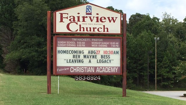 Fairview Christian Academy & Child Development Center (FOX Carolina/ 8/11/17)