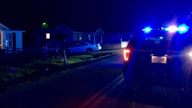 Scene of shooting on Boyce Street in Anderson (FOX Carolina/ 8/12/17)