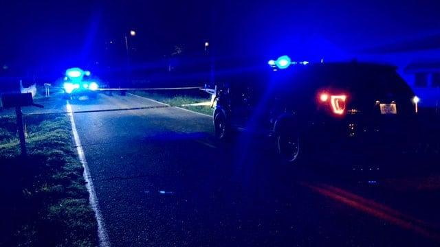 Scene of shooting on Boyce Street in Anderson (FOX Carolina/ 8/12/17)