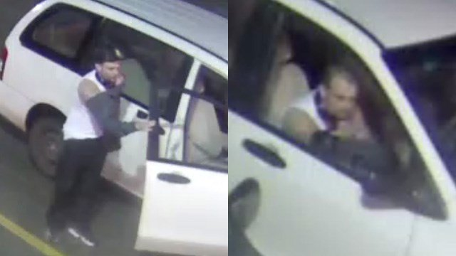 Suspect in truck theft (Source: Greenville Police Department)