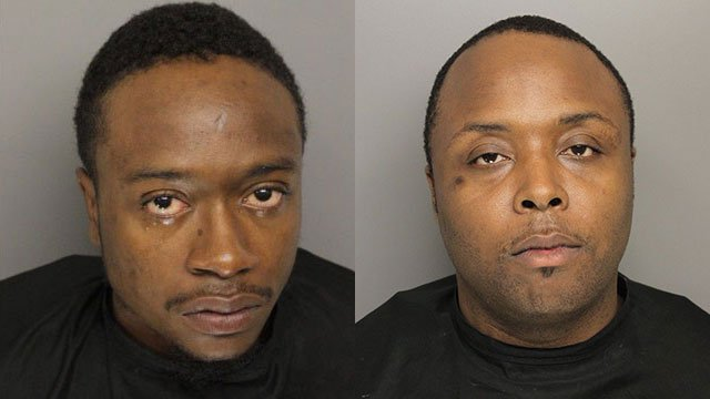 Samuel Burnside (L) and Rovillie Williams (Source: GCSO)