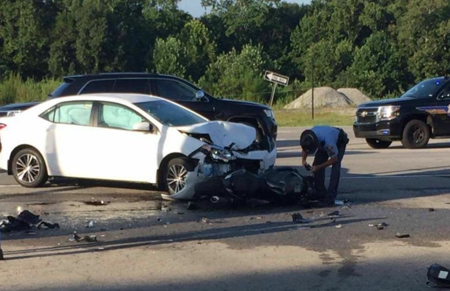 Scene where crash ended (Source: Stacy Brooks)