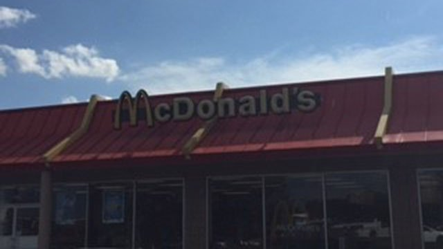 McDonald's  (Aug. 17, 2017/FOX Carolina)