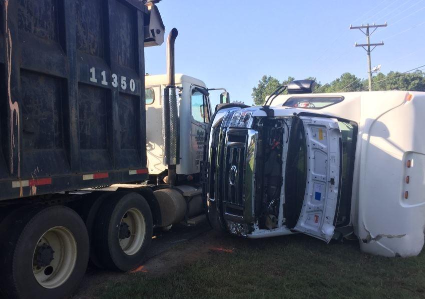 Photo of the crash (FOX Carolina/ 8-18-2017)