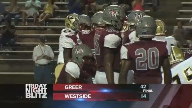 Greer vs. Westside