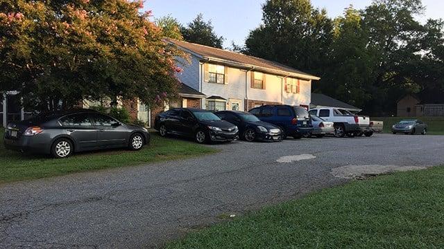 Apartments on West Buford Street. (8/20/17 FOX Carolina)