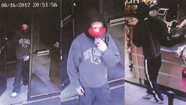 Police say this subject robbed a Subway in Spartanburg. (Source: SPD)