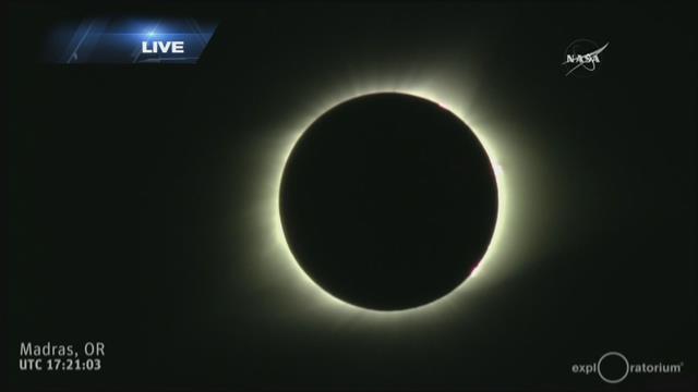 Total solar eclipse around the world