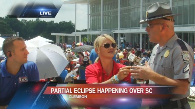 SC Highway Patrol says roadways, interstates looking good during eclipse