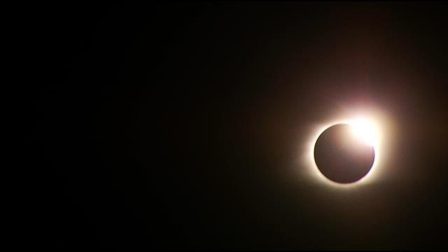 Eclipse totality stuns over Greenville