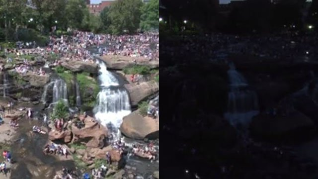 With thousands of tourists flocking to Greenville, experts say economic impact totalled more than $12M (FOX Carolina)