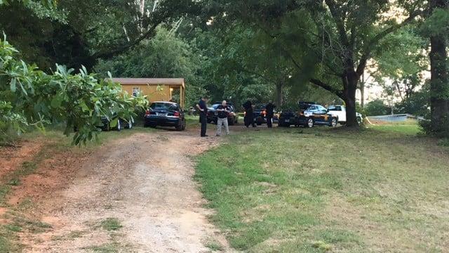 Scene of reported assault in Anderson Co. (8/21/17 FOX Carolina)