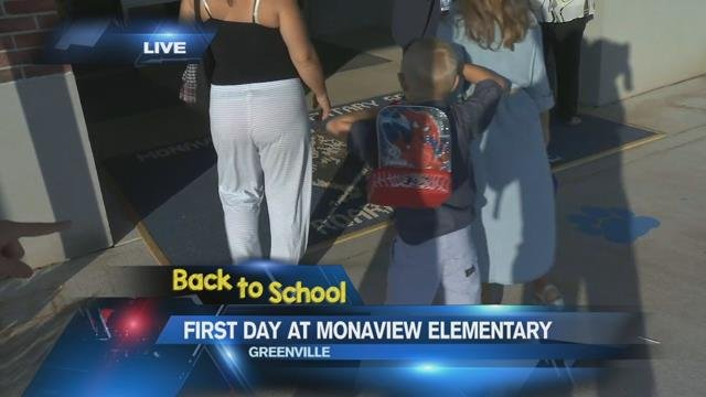 Greenville County students head back to school