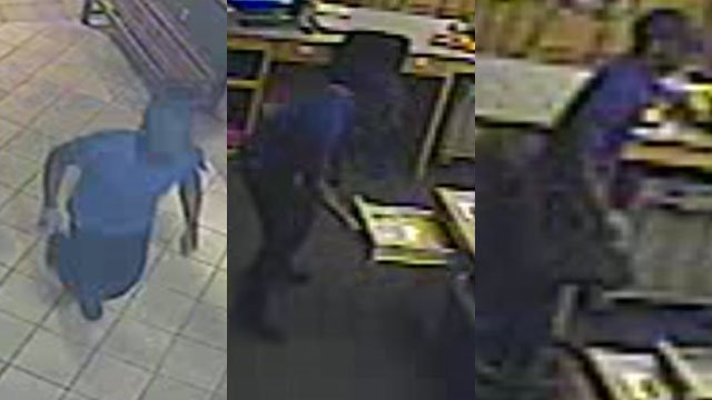 Surveillance photos of the suspect (Courtesy: SCSO)