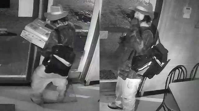 Suspect in 'The Pickle Barrel' burglary (Source: OCSO)