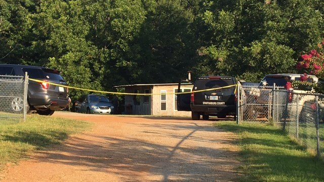 Scene of death investigation on Pearson Road. (8/22/17 FOX Carolina)