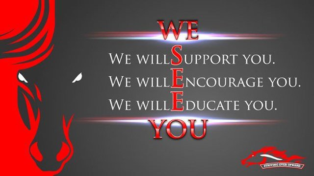 """We See You"" slogan. (8/22/17 FOX Carolina)"