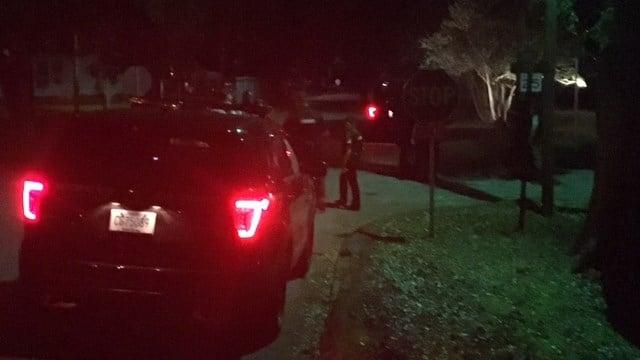 Deputies on scene of shooting on Q Street. (8/22/17 FOX Carolina)