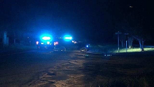 Scene of collision on N Main Street in Laurens. (8/22/17 FOX Carolina)