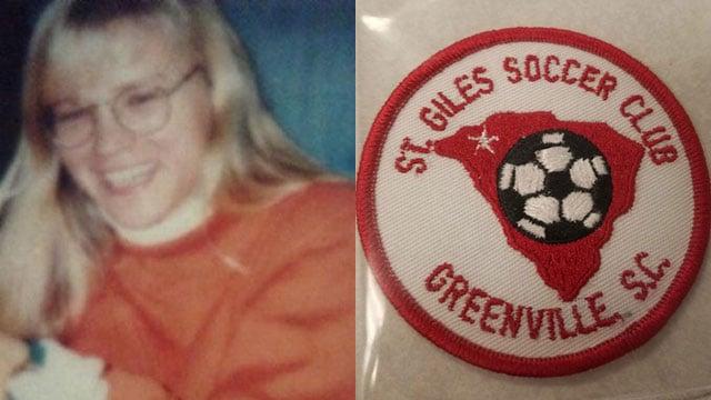 Tammy Zywicki and distinctive, missing soccer patch (Source: FBI)