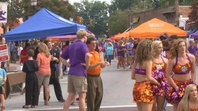 Clemson's growth positive for both university and city