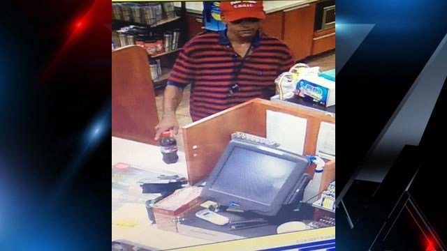 Suspect in Spinx attempted robbery (Source: Greenville PD)