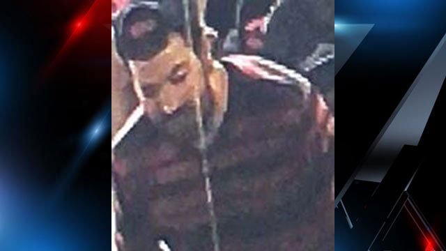 Suspect in theft at trampoline park (Source: Spartanburg Co. Sheriff's Office)