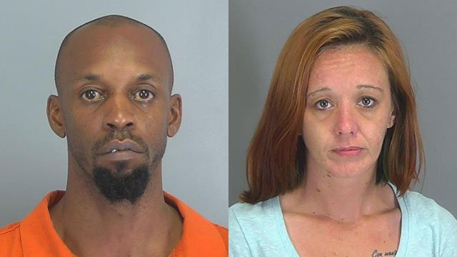 Darrell Lovett and Frances McKnight (Source: Spartanburg Co. Detention)