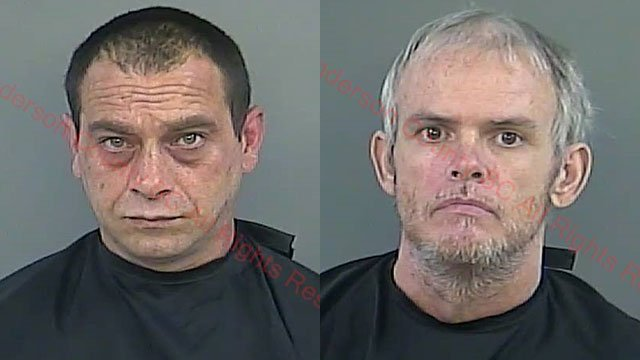 Jason Carver (L) and Woodrow Curry (Source: Anderson Co. Detention)