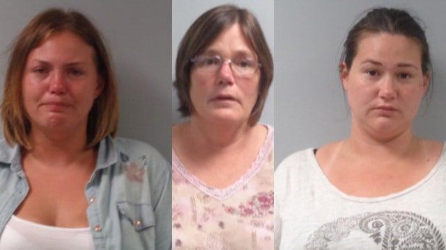 Rissa DeBello (L), Marissa Samples (Center), Mandi Black (R). (Source: WPD)