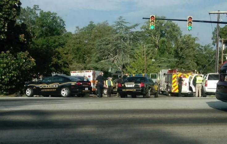 Police-involved crash (Source: Kristin Panter)
