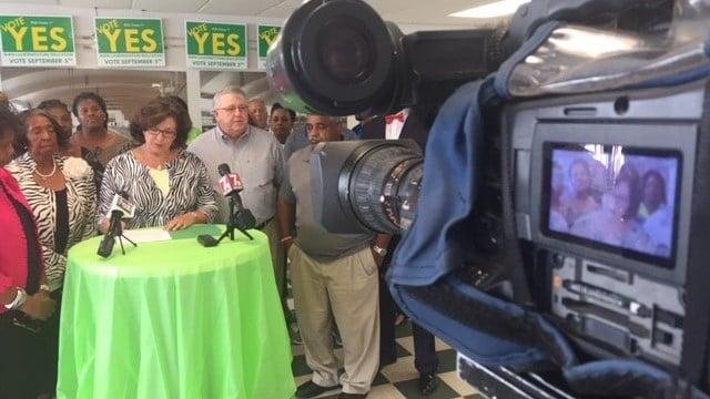 Laurens County District 55 Board of Trustees (Aug. 28, 2017/FOX Carolina)