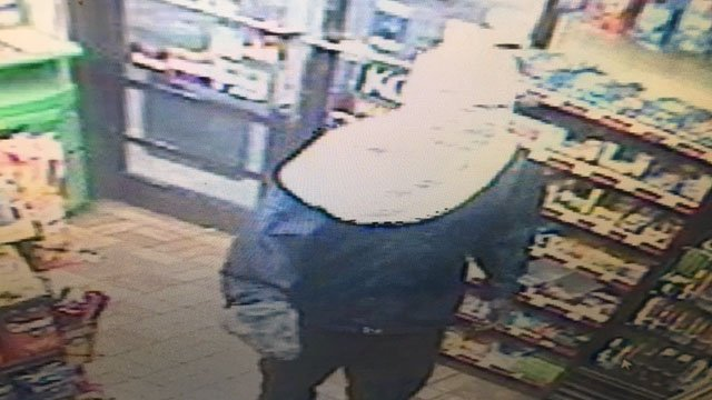 Suspect in gas station robbery (Source: Spartanburg PD)