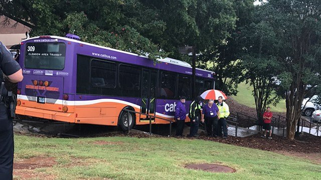 Clemson CATbus crash (Source: iWitness)
