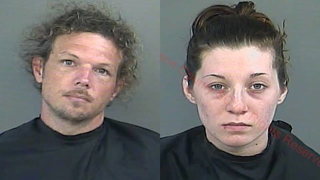 Nathan Roach (L) and Cheyenne Otto (Source: Anderson Co. Detention)