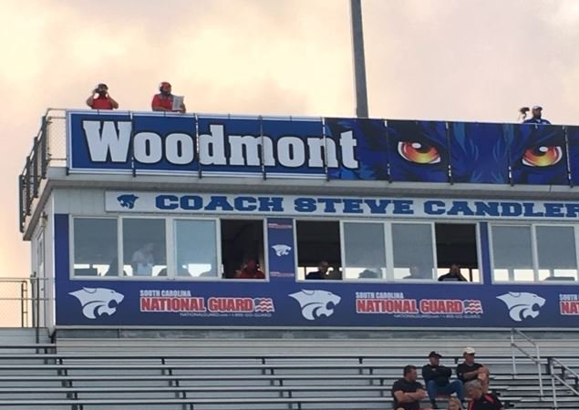 Woodmont shut out Wade Hampton when the teams met Thursday night.