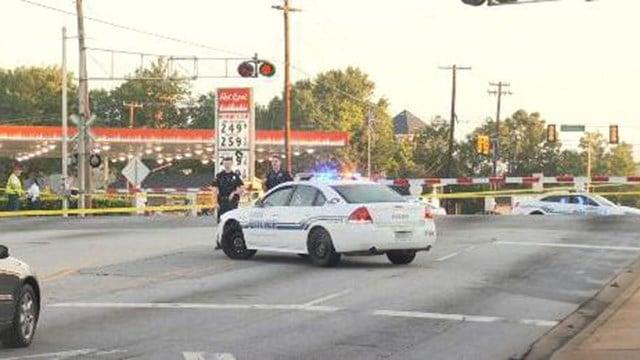 Scene of fatal train accident in Greer. (9/2/17 FOX Carolina)