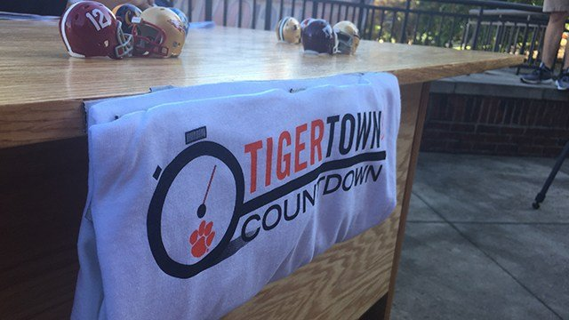 Tigertown Countdown. (9/2/17 FOX Carolina)