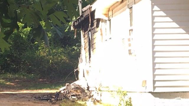 House where deputies called to for disturbance on Heatherly Drive. (9/3/17 FOX Carolina)