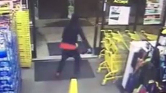 Screen grab from Dollar General surveillance video. (Source: LPD)