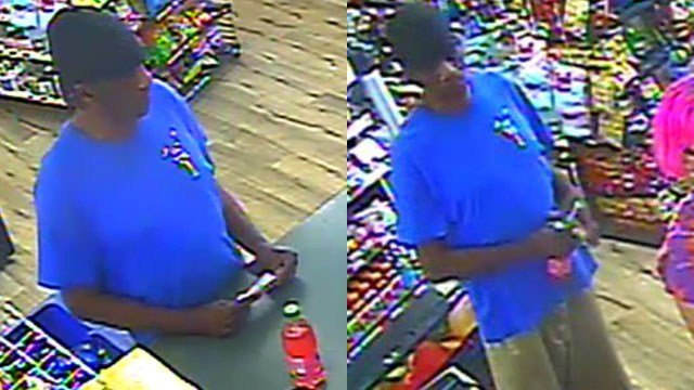 Cash grab suspect (Source: Greenville City PD)