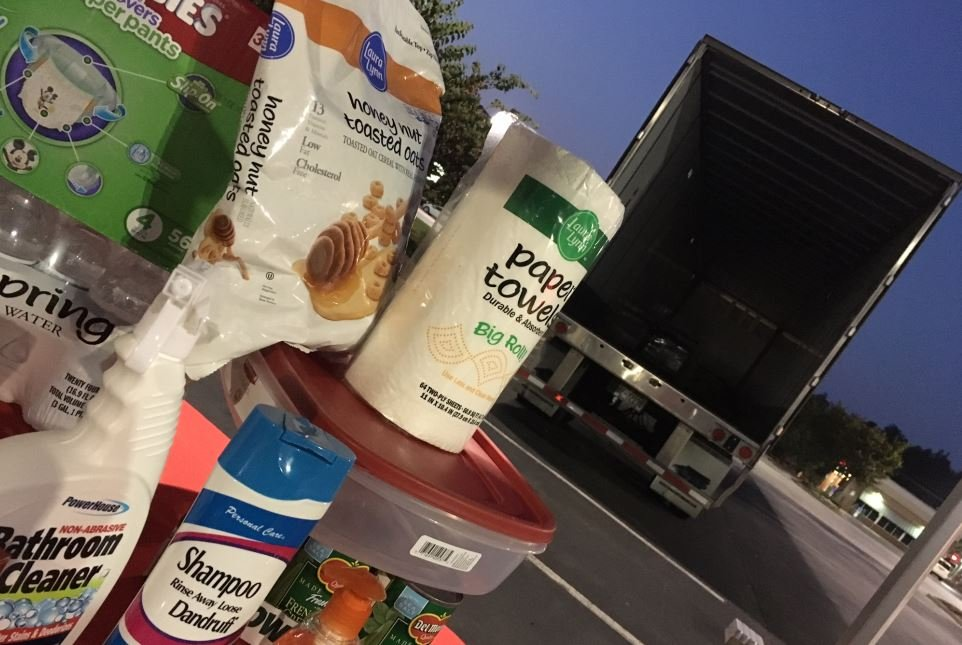 Help us fill this truck with supplies for Hurricane Harvey victims (FOX Carolina/ Sep. 4, 2017)