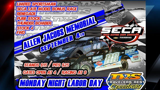 Aleen Jacobs Memorial race flyer (Source: Greenville Co. Sheriff's Office)