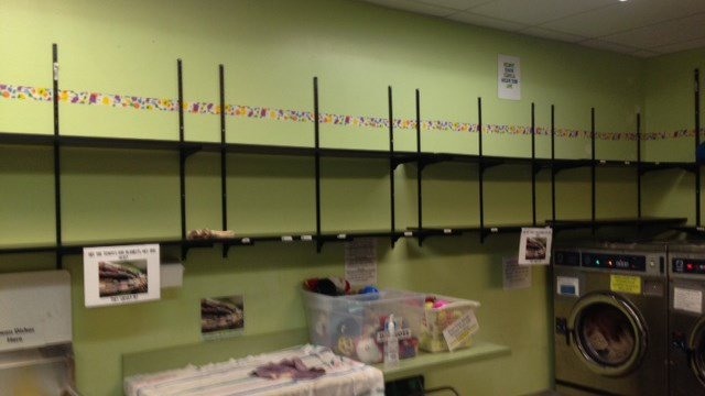 Bare shelves at the Greenville Humane Society (Source: Humane Society)