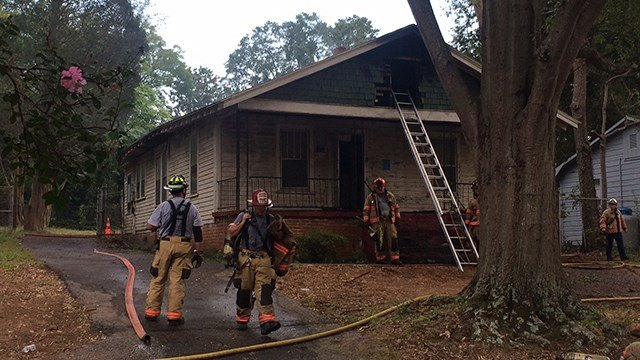 Spartanburg house fire (Sep. 5, 2017/FOX Carolina)