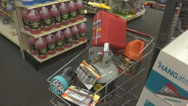 Upstate hardware stores report an uptick in sales for emergency supplies ahead of Hurricane Irma (FOX Carolina)