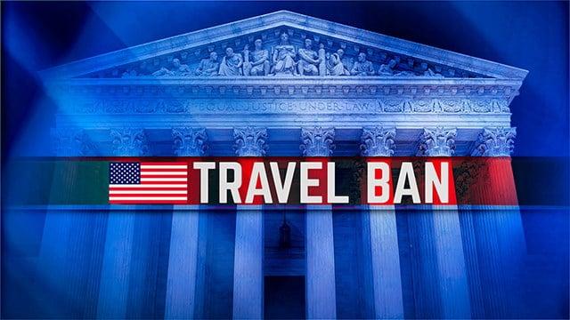Travel ban (Source: AP)