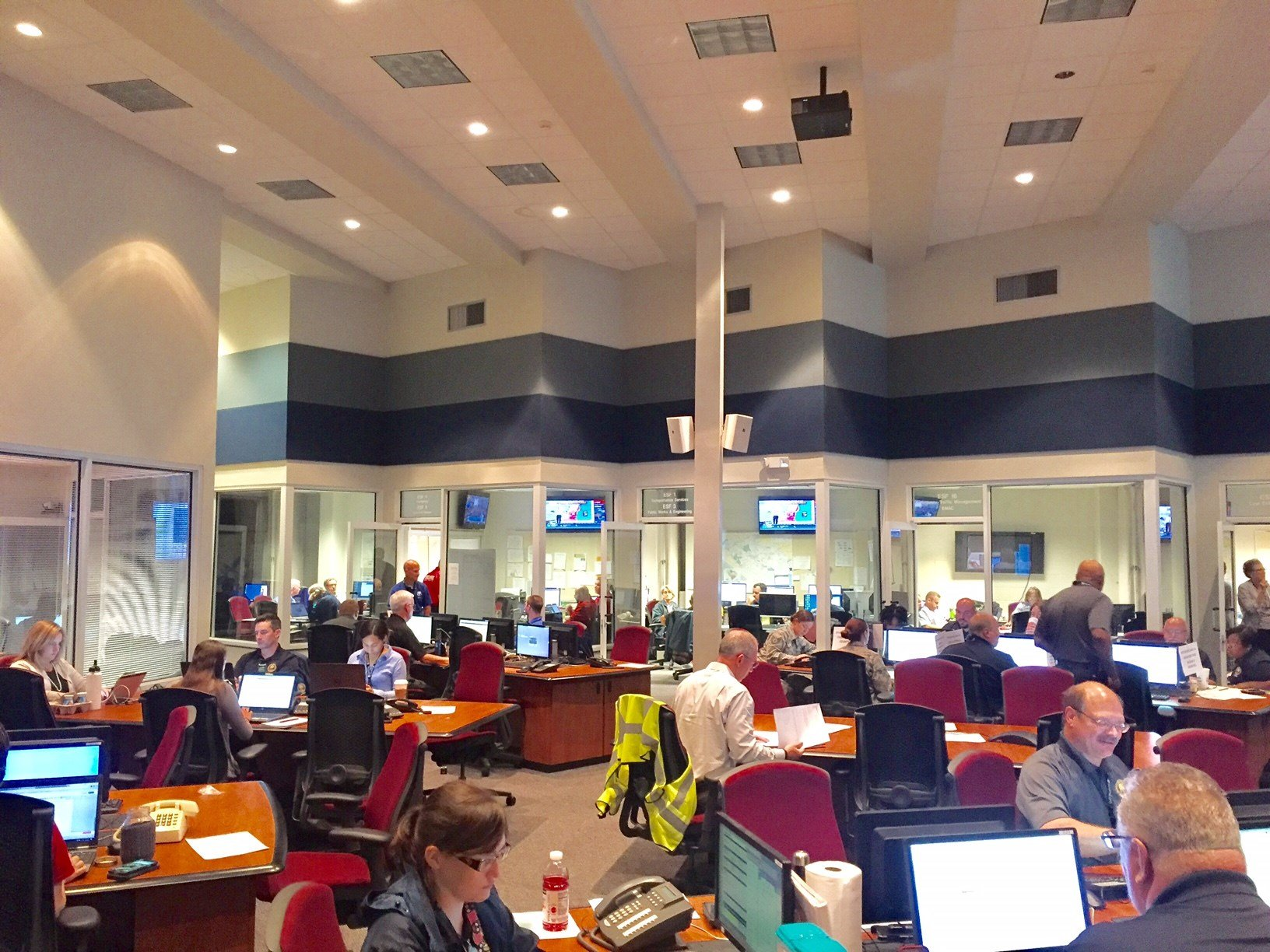 A look inside the Emergency Operations Center (FOX Carolina)