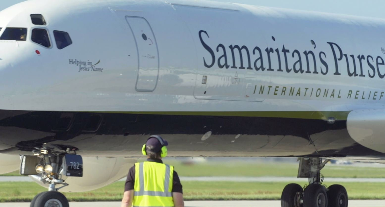 Samaritan's Purse cargo plane (Provided)