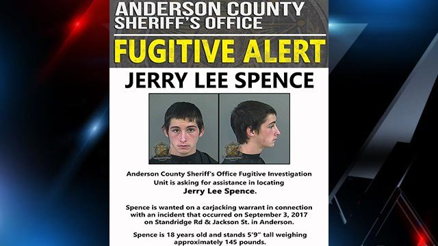 Jerry Lee Spence (Source: Anderson County Sheriff's Office Facebook)
